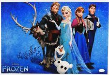 Kristen Bell Autograph Signed Photo JSA COA 12 x 18 Frozen