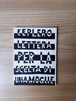 Johannes Keplero, Lettera per la scelta di una moglie, Millelire stampa alternat