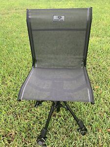360° Swivel Mesh Hunting Blind Chair