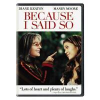 Because I Said So (DVD, 2007, Widescreen)