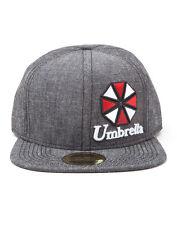 OFFICIAL RESIDENT EVIL UMBRELLA LOGO GREY SNAPBACK CAP (BRAND NEW)