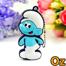 Smurfs USB Stick, 8GB The Smurfs Quality USB Flash Drives WeirdLand