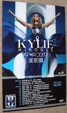 Kylie Minogue poster - Aphrodite 2011 Tour - promo poster - 11 x 17 inches