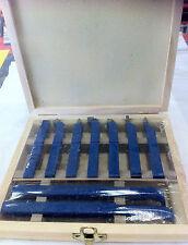 Lathe Tool Metal Cutting Set 9 pce  Carbide