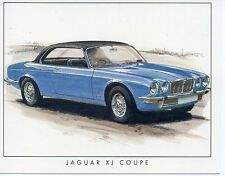 #5 Jaguar XJ Coupe Car collector card