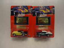 Johnny Lightning Special Edition 1956 Chevy duo 1/5000 from newsletter