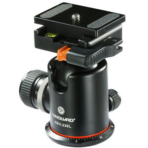 Vanguard Elliptical Ball Head ABH-230L 66 LB Capacity Arca Compatible Q/R