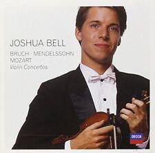 Violin Concertos by Mendelssohn Bruch Mozart Joshua Bell Audio CD