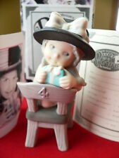 "Enesco Pretty as a Picture ""the best gift of all is being four"" 2000"