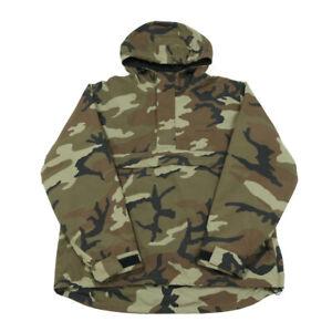 CARHARTT Camo Nimbus Pullover | Medium | Camouflage Jacket Waterproof Hooded