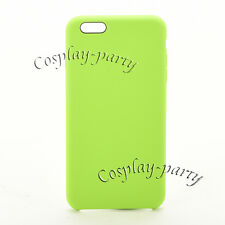 Original Apple Silicone iPhone 6 / iPhone 6s Case Snap Cover Green Ope