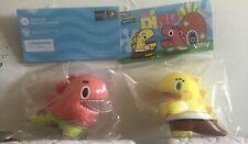 Ziqi Wu Dino Sponge Bob And Patrick Star (Unbox Industries) Brand New.