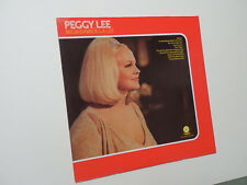 Peggy Lee - BROADWAY A LA LEE : Capitol Re-issue SF-519