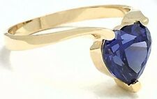 Tanzanite Cushion Shape 925 Sterling Silver Ring Jewelry Size 6-9 DRR1099/_F