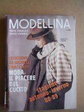 MODELLINA n°75 1988 edizione Pieroni  [C59]