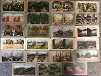 23 Color Stereoviews - Mixed Subjects