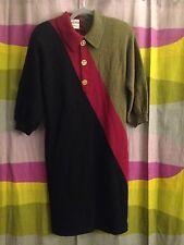 Adolfo at saks fifth avenue, women's sweater dress, size L