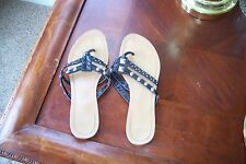 Womens Sweet Beauty 8.5 faux Leather Black and Silver Studs