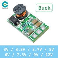 5-40V to 3V 3.3V 3.7V 5V 6V 7.5V 9V 12V DC-DC Buck Converter Power Supply Module