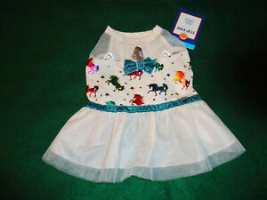NWT TOP PAW DOG PET DRESS UNICORN  SIZE SMALL HALLOWEEN OR ANYTIME