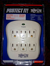 Tripp Lite SK6-0 Direct Outlet Plug Surge Protector/Supressor NEW Free Shipping!
