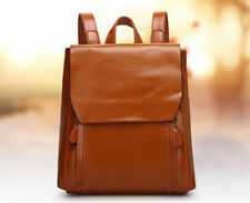 Japan Preppy Style Zipper School Bag - Brown (TFK042255)
