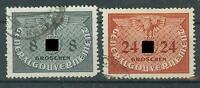 Deutsches Reich Briefmarken Generalgouvernement 1940 Dienstmarken Mi.Nr.2+6