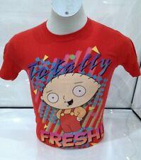 Family Guy Men's Totally Fresh T-shirt Red Medium