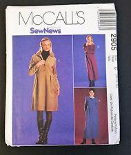 McCall's SewNews Pattern 2905 Tall 10 - 14 Misses/Miss Petite Dress Uncut 2000