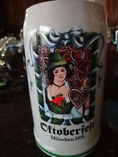 First In Series Octoberfest Stein