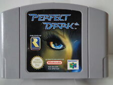 N64 juego-Perfect Dark (usk18) (PAL) (módulo)