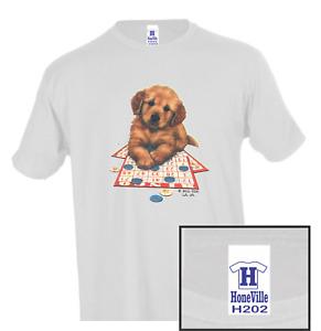 Nature Dog Bingo Puppy HoneVille Adult Unisex T-shirt