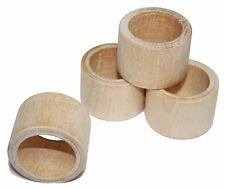 1-Smooth Wood Napkin Ring Holder, Wedding Napkin Rings, Rustic Napkin Ring