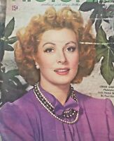 Vintage Collectible Photoplay Movie Magazine Greer Garson May 1945