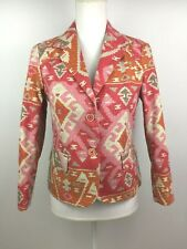 We. You and Me Women's 100% Cotton Multi-color Blazer Size 4