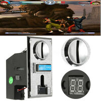Multi Coin Acceptor Selector Slot for Arcade Gaming Vending Machine Game Control