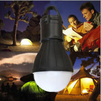 Camping Hanging Tent LED Bulb Hike Light Fishing Lantern Outdoor Emergency Lamps