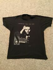 Vtg 1987 Sting Nothing Like The Sun Tour Concert Promo Shirt L