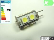 G6, 35/GY6, 35 LED stiftsockel-zylinder - 9 x 3-chip-smds - Blanc Chaud