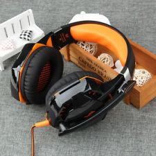 OGNI G2000 Gioco Cuffie 3D Stereo Gaming Auricolari Con Microfono Per PC Giochi