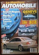 Le moniteur Automobile 18/3/1999; Essai Renault Mégane/ Mazda 323/ Subaru Forest