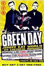 GREEN DAY American Idiot  Australian Laminated  Tour Poster