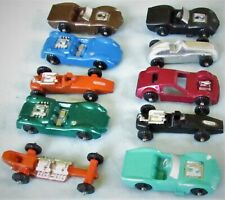 Hot Rods ~ Roadsters ~ Race Cars ~ Store Display Box of 36 ~ 1960's Die Cast