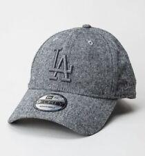 Chapeaux casquettes de base-ball gris coton mélangé pour homme