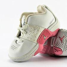 Air Jordan Jumpman Team Flow Low TD White Silver Real Pink Size 3C 2003'