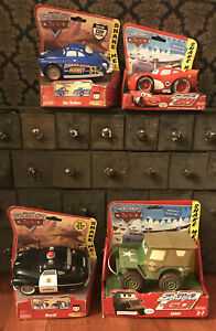 Brand New Disney Pixar Cars Fisher Price Shake 'N Go Toy Lot of 4 McQueen & More