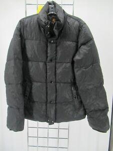 I6646 VTG Men's Carhartt Button Snap Puffer Jacket Size M