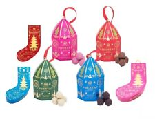 Prestat Christmas Chocolate Mini Bell & Stocking Truffles Pack Tree Decoration