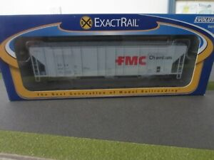 1/87 HO Exact Rail Evans 4780 Covered Hopper FMC Cemicals #20211 EE-1703-6