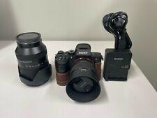 Sony Alpha 7R III 42.4 MP Digital Camera - Two Lenses FE 1.8 50mm &FE 24-240mm
